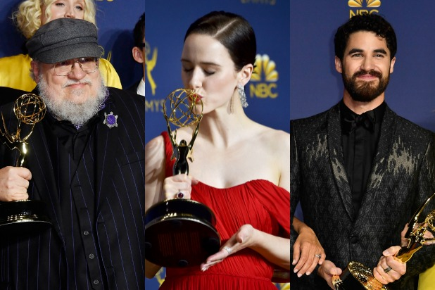 2018 Emmy winners list