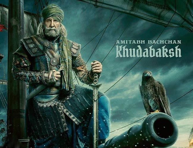 Amitabh Bachchan is commander Khudabaksh in 'Thugs of Hindostan'