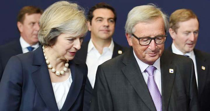 EU leaders keep up pressure on May to take Brexit deal
