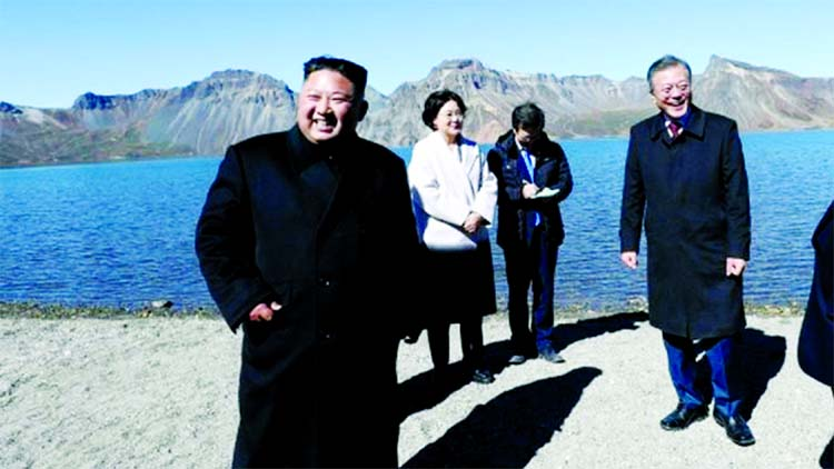 Kim wants fast denuclearisation : Moon