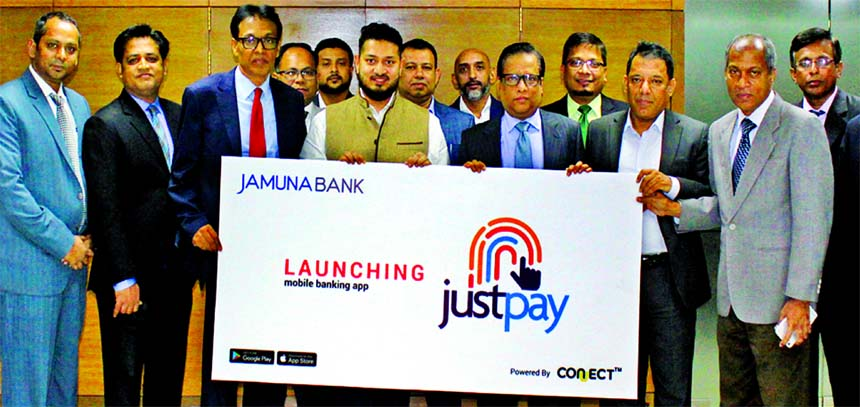 Jamuna Bank Ltd launches its mobile app
