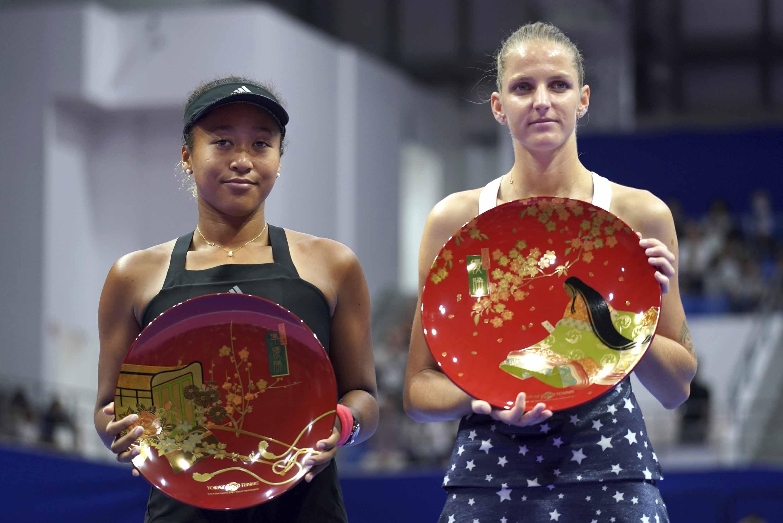 Pliskova floors Osaka to win Tokyo title