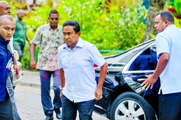 Maldives strongman Yameen seeks second term amid fears of rigging