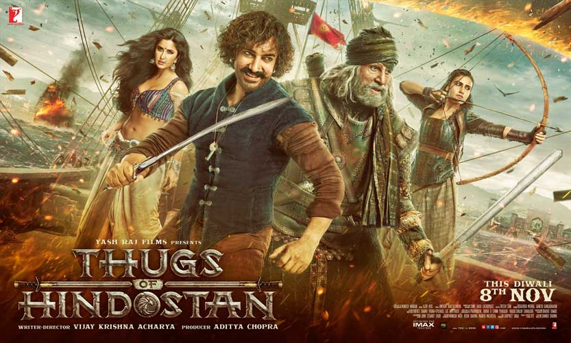 First poster of Thugs of Hindostan!