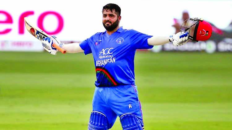 Afghans stun India Hit fighting 252/8