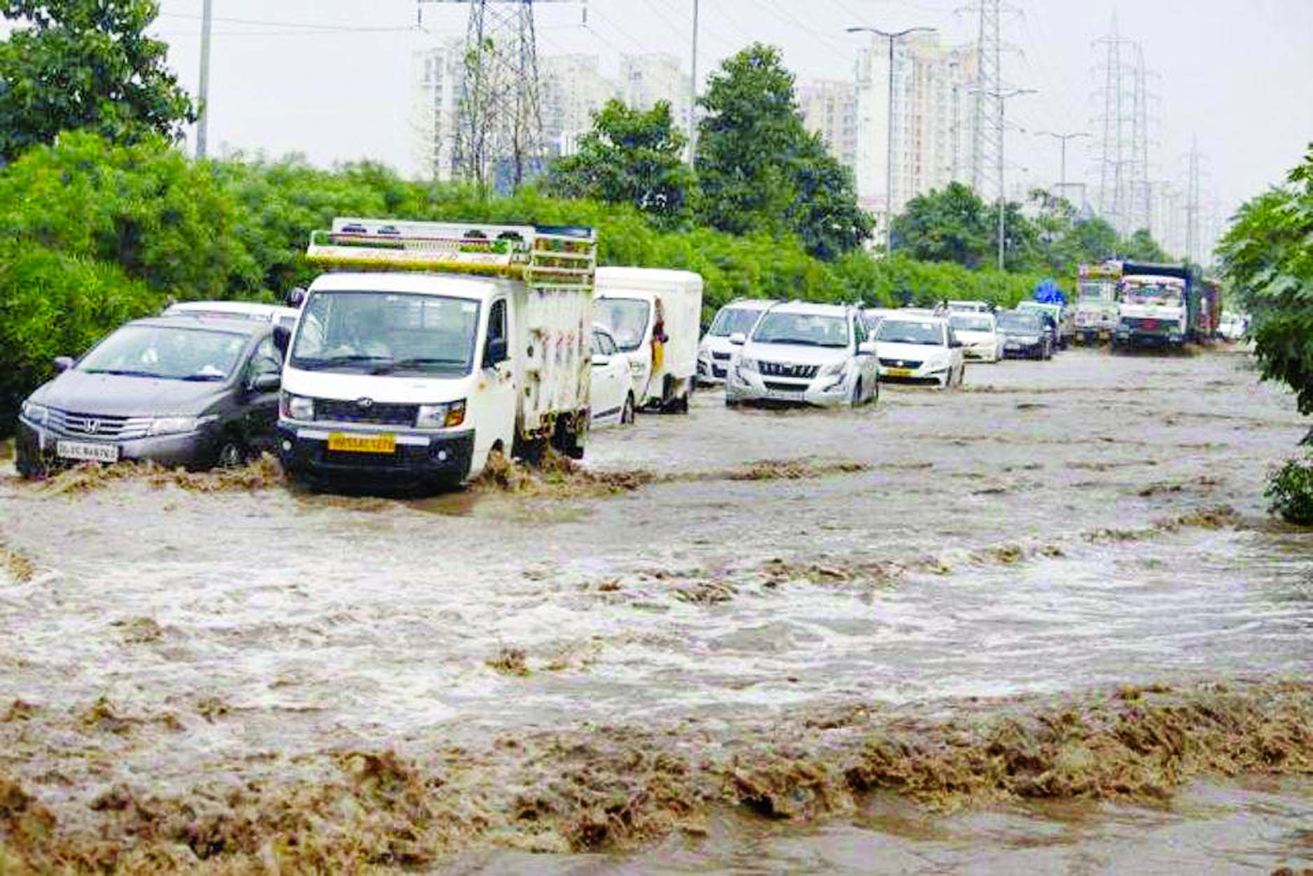 25 die as monsoon burst smacks north India