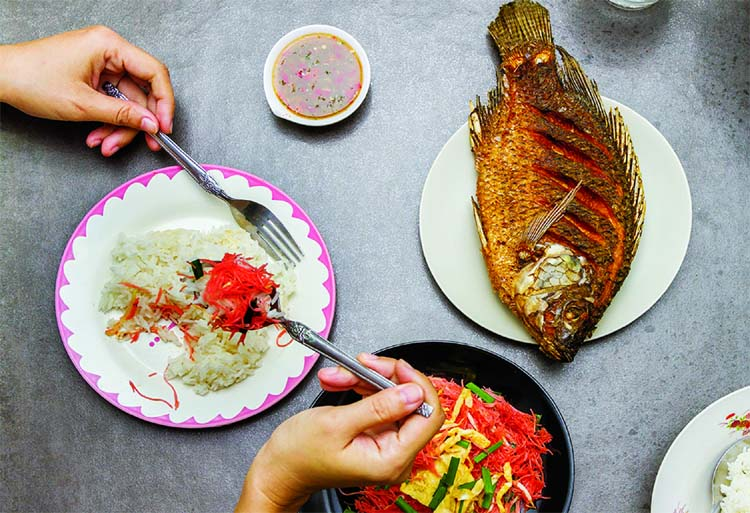 According to the study, infants whose mothers ate fish three or more times a week during the last trimester of their pregnancy fared better than those whose mothers ate no fish or only up to two portions per week