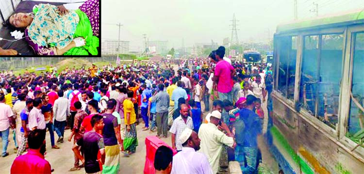 Locals block Dhaka-Ctg highway protesting accident at