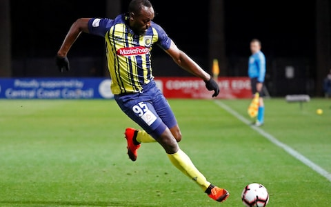 Bolt looking to his first football start in Sydney