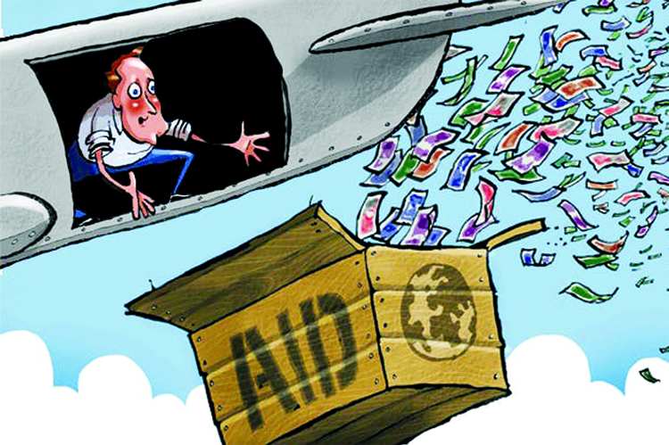 Foreign Aid: A blessing (or a curse) in disguise?