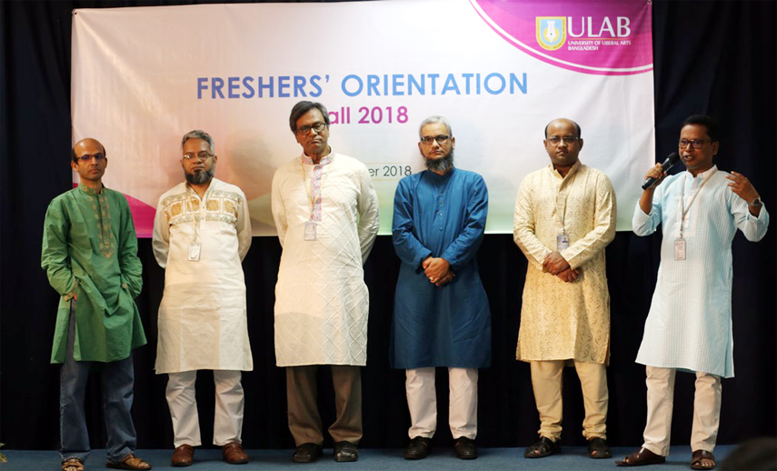 ULAB hosts Freshers' Orientation for Fall 2018