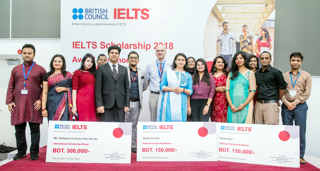 IELTS scholarships award ceremony held