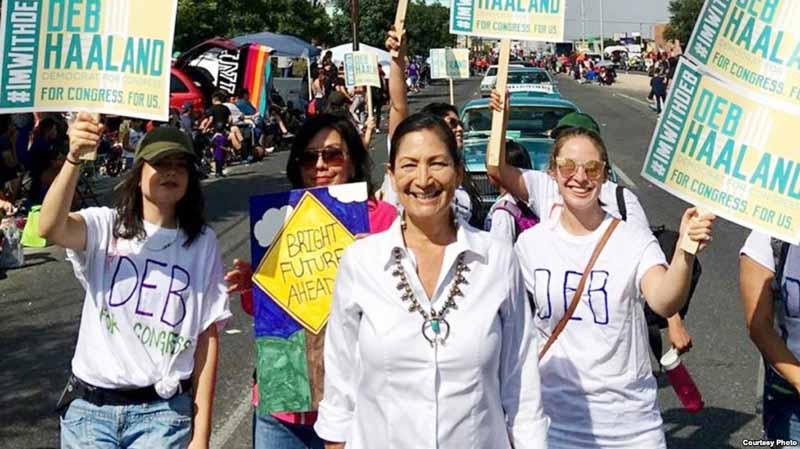 Record number of native American women running in US midterms