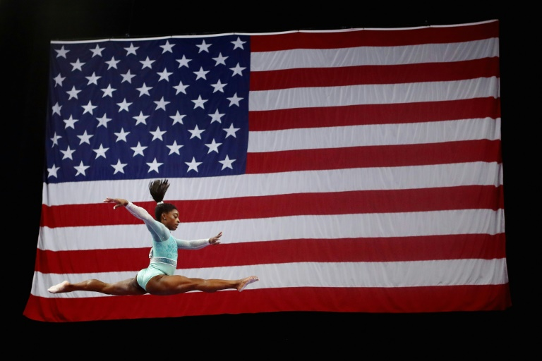 Biles calls out new USA Gymnastics president over Nike tweet