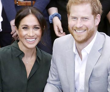 Prince Harry and wife Meghan expecting a baby