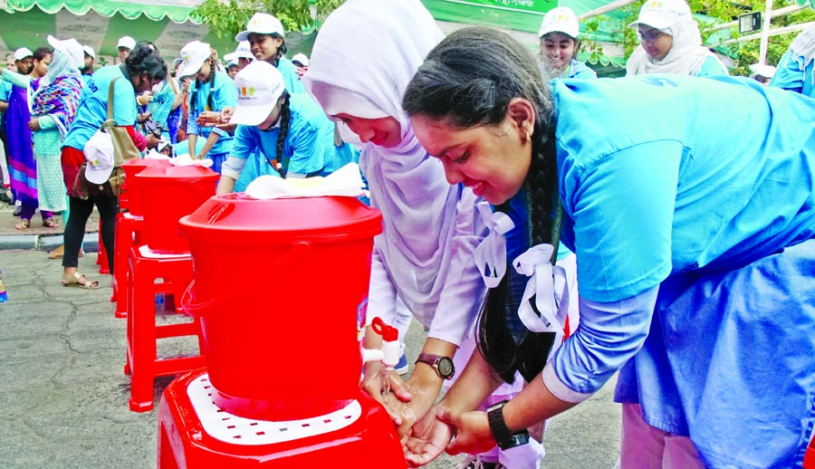 A hand washing festival was inaugurated by Local Govt and Cooperative Ministry at Osmani Memorial Auditorium marking the Hand Washing Day on Monday.