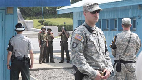 Koreas, US-led UN Command discuss disarming border area