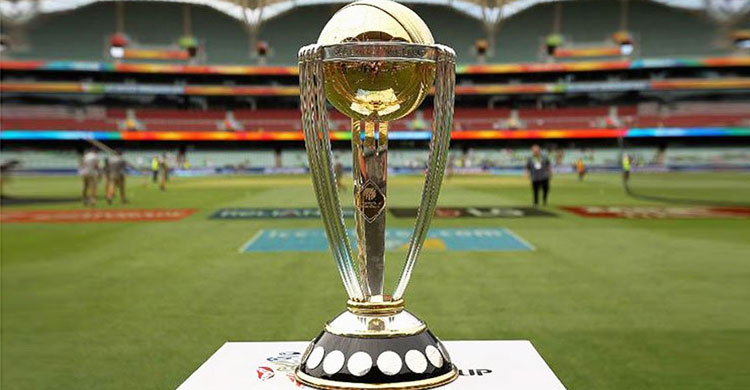 ICC WC Trophy to arrive in Bangladesh today