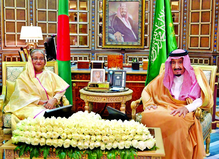 Dhaka, Riyadh sign 5 MoUs on chemical, solar power cooperation