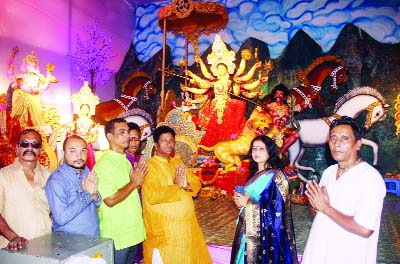 Durga Puja celebration continues amid festivity in dists