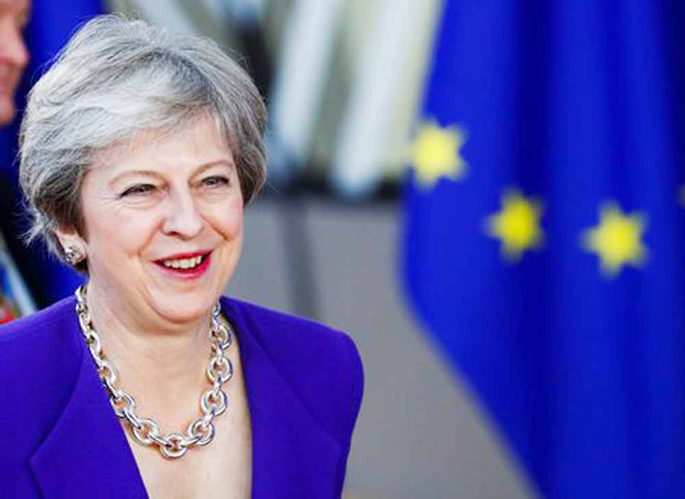 Post-Brexit transition could be extended: May