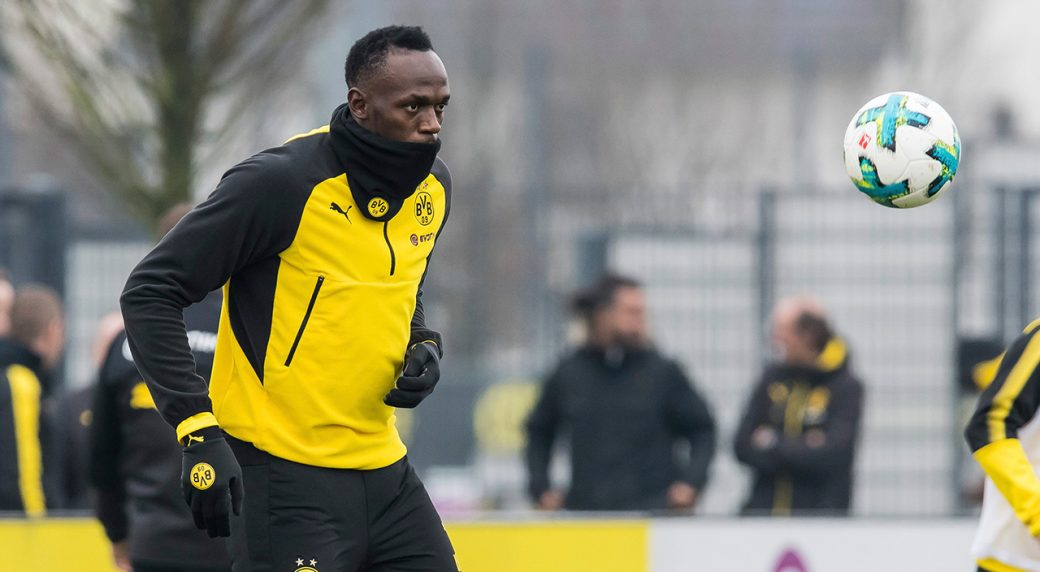 Sprint king Bolt rejects Malta football offer