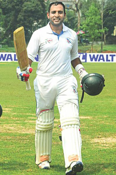 Tushar becomes first Bangladeshi to reach 11000-club