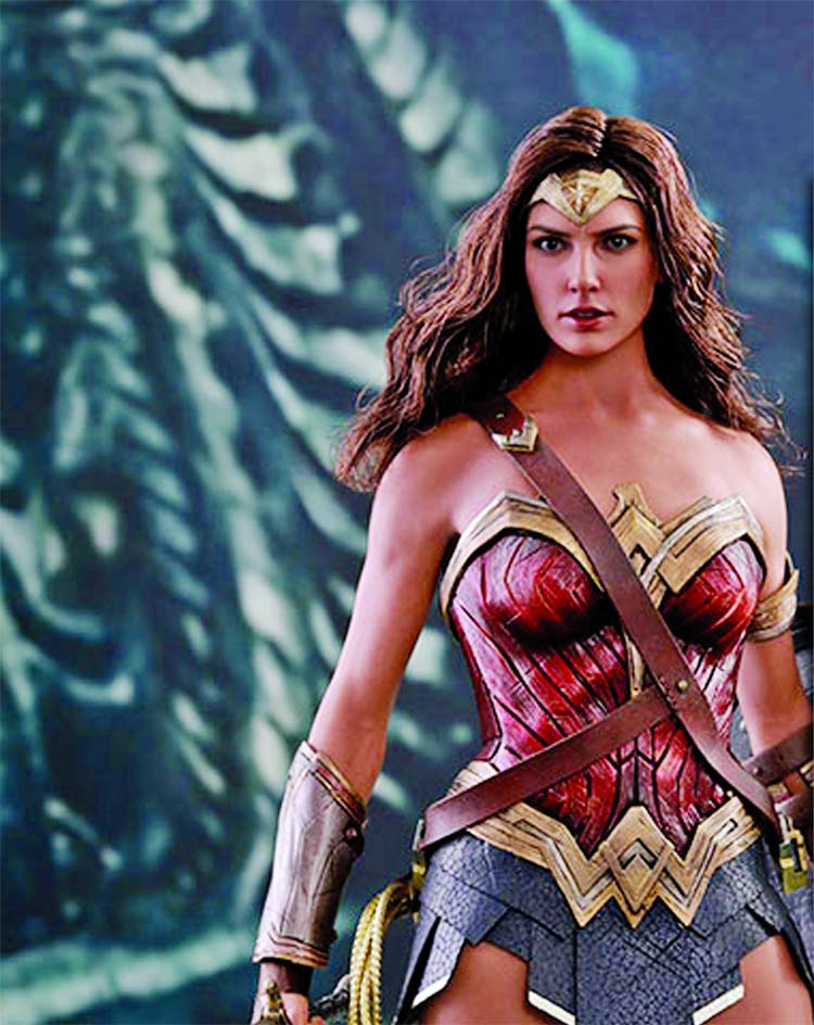 Wonder Woman helps boost self-confidence in young girls