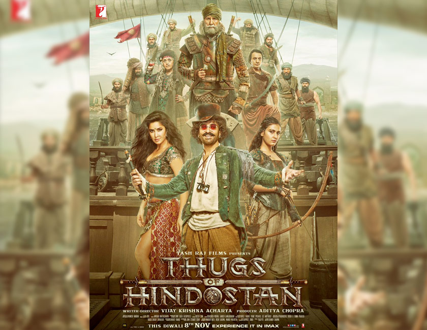 Aamir Khan`s smile in new poster of Thugs of Hindostan