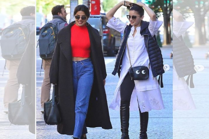 Alia, Priyanka spend some girl time in New York City