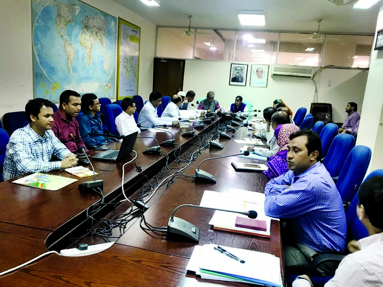 An inter-ministerial meeting on introduction of  Dhaka-Kaliakoir Train Service for Bangabandhu High-Tech City was held at the Ministry of Railway yesterday . Railway Minister Mujibul Haque  presided over the meeting .