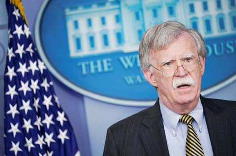 US security chief Bolton in Moscow for talks on nuclear treaty
