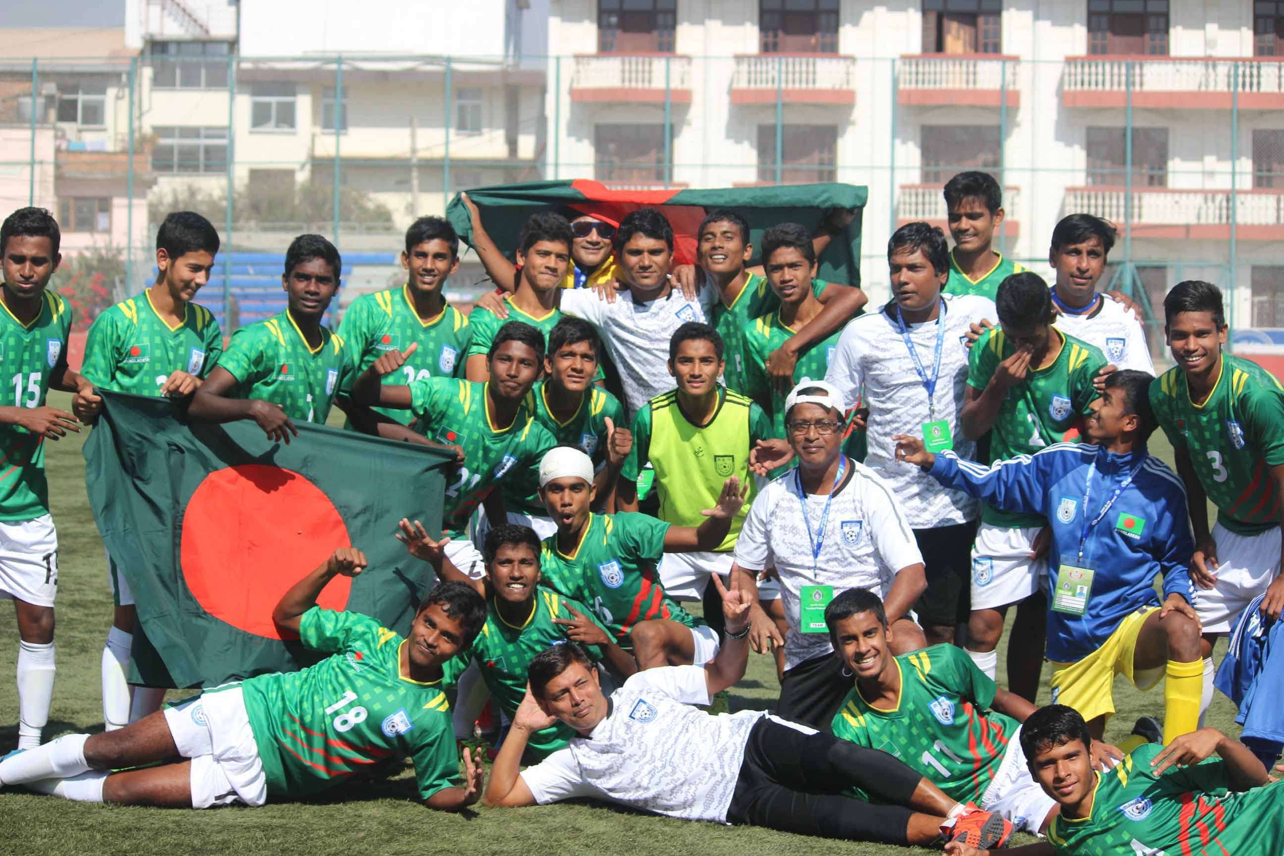 Booters eliminate India by 4-2 goals in tie breaker