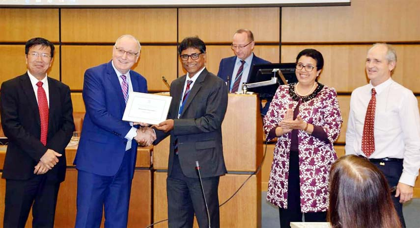BAU professor receives IAEA Merit Award
