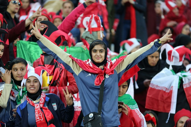 Iran women attend Asian Football final in rare `victory`