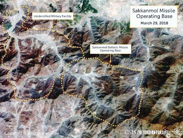 N Korea hiding missile bases, US researchers say