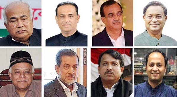 8 heavyweight candidates in 8 seats out of 16 constituencies
