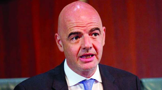 FIFA boss says he doesn't know why prosecutor was suspended