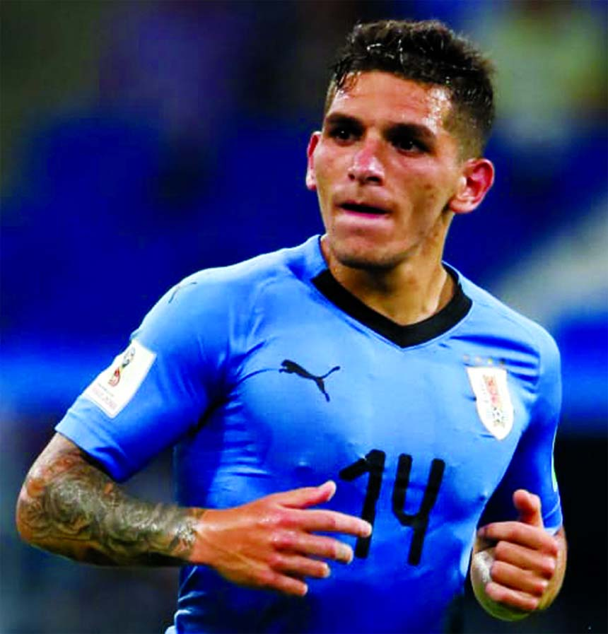 Uruguay's Torreira ready for Brazil showdown
