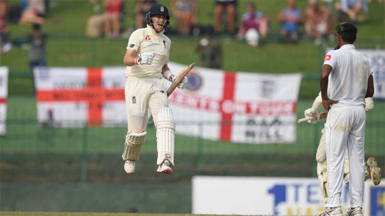 Joe Root's century caps off the 'day of the sweep' as England step closer to victory