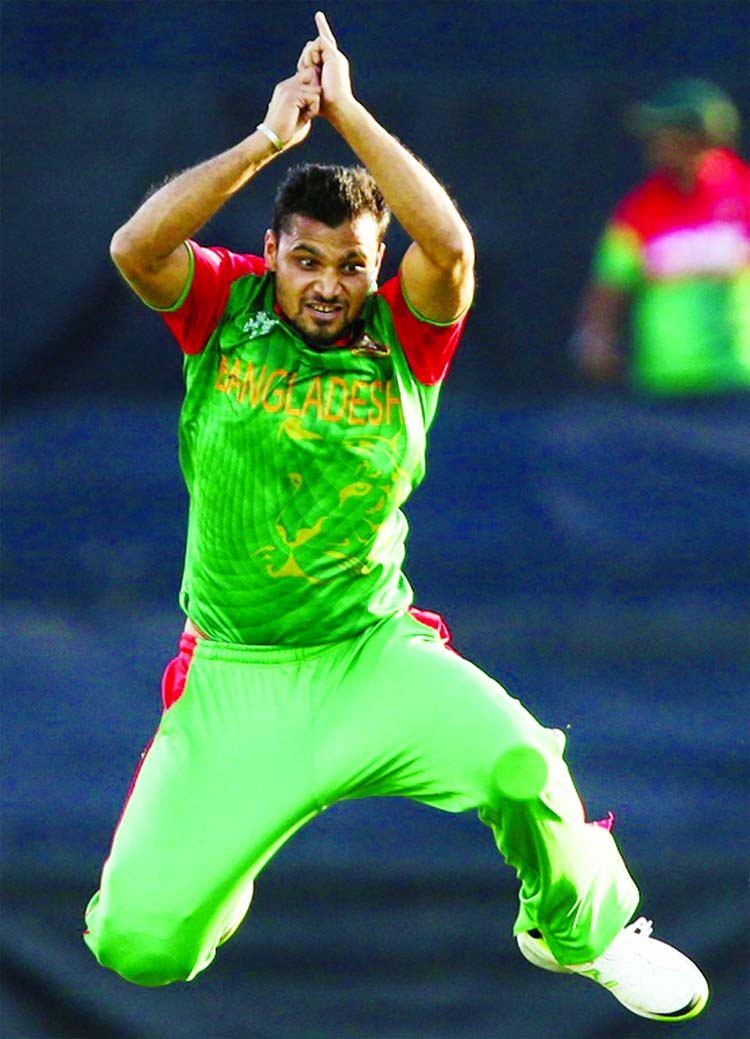 Mashrafe Bangladesh's most successful bowler in last three years