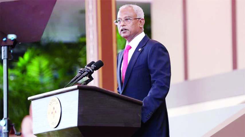 Ibrahim Mohamed sworn in as new Maldives president