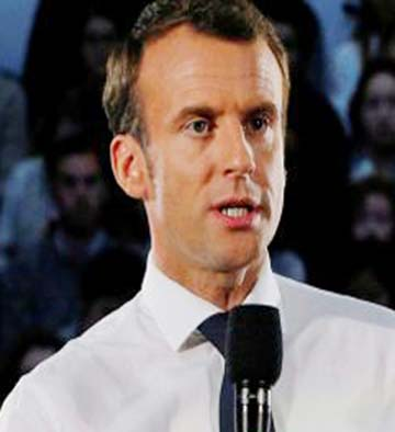 Macron's popularity falls to 25 pc: Poll