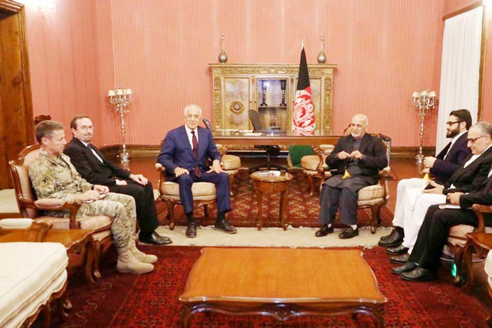 US peace envoy hopes for deal with Taliban in 2019