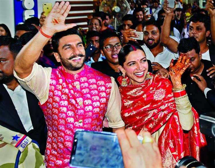 Ranveer and Deepika are back after the wedding