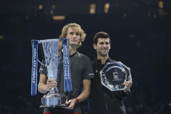 Zverev ATP Finals win hints at changing of the guard