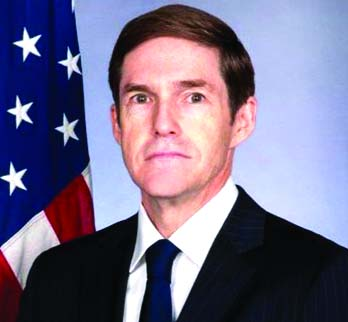 New US envoy Miller in city