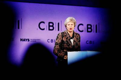 British PM`s N Irish allies up pressure over Brexit