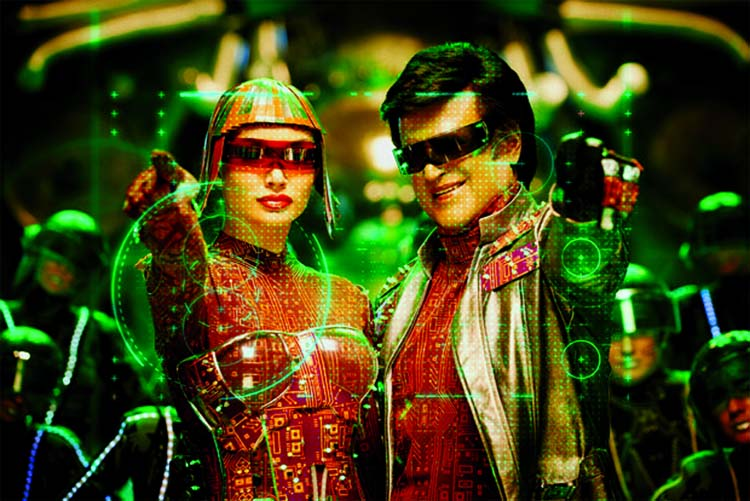 Rajinikanth & Amy Jackson's techno love story