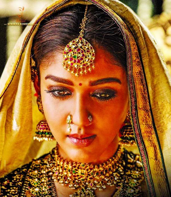 Nayanthara is Siddhamma in Sye Raa Narasimha Reddy
